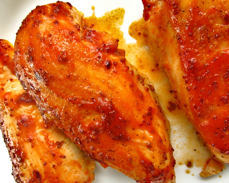 Sweet Deviled Baked Chicken