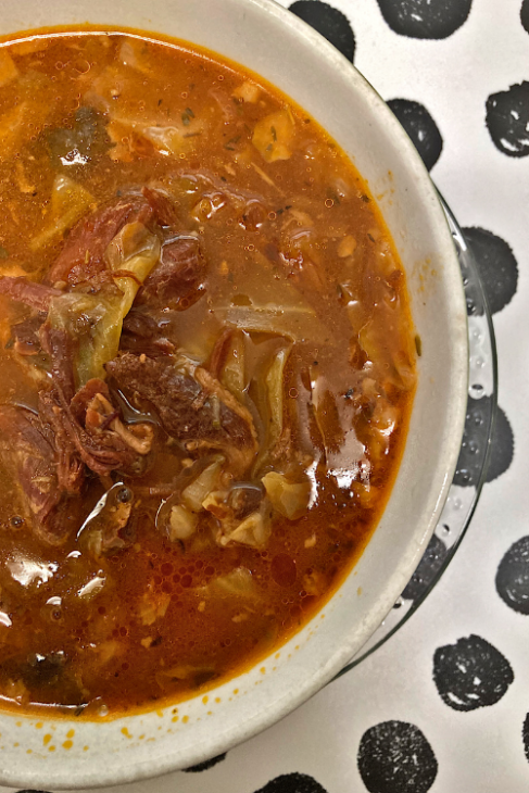 hambone and cabbage soup instant pot
